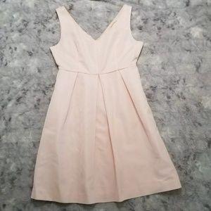J. Crew Dresses - J.Crew Kami Dress 8 Blush Pink